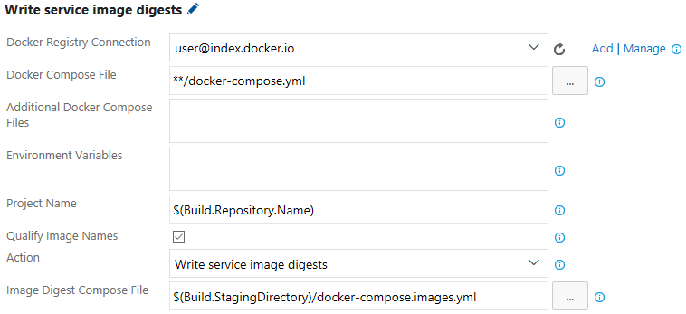Docker Compose Write Image Digests