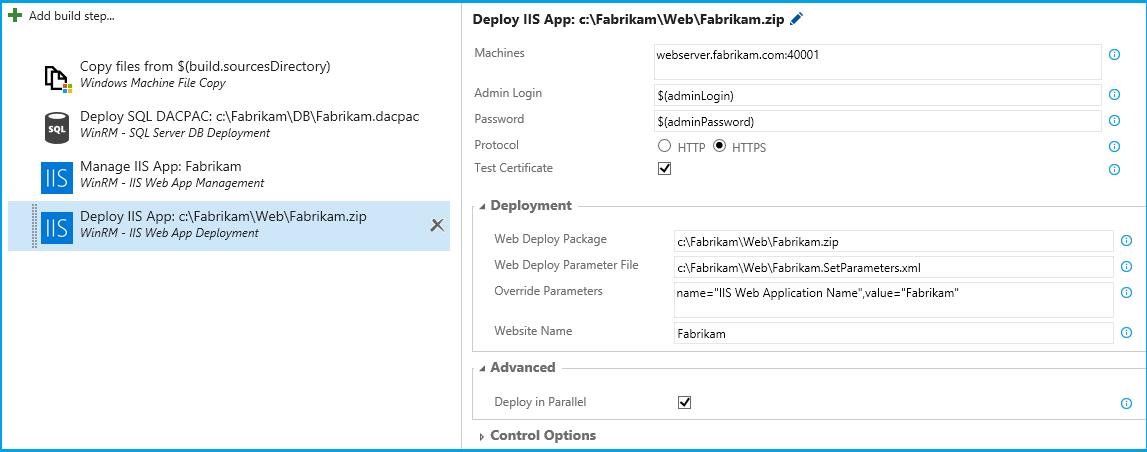 WinRM: IIS Web App Deployment