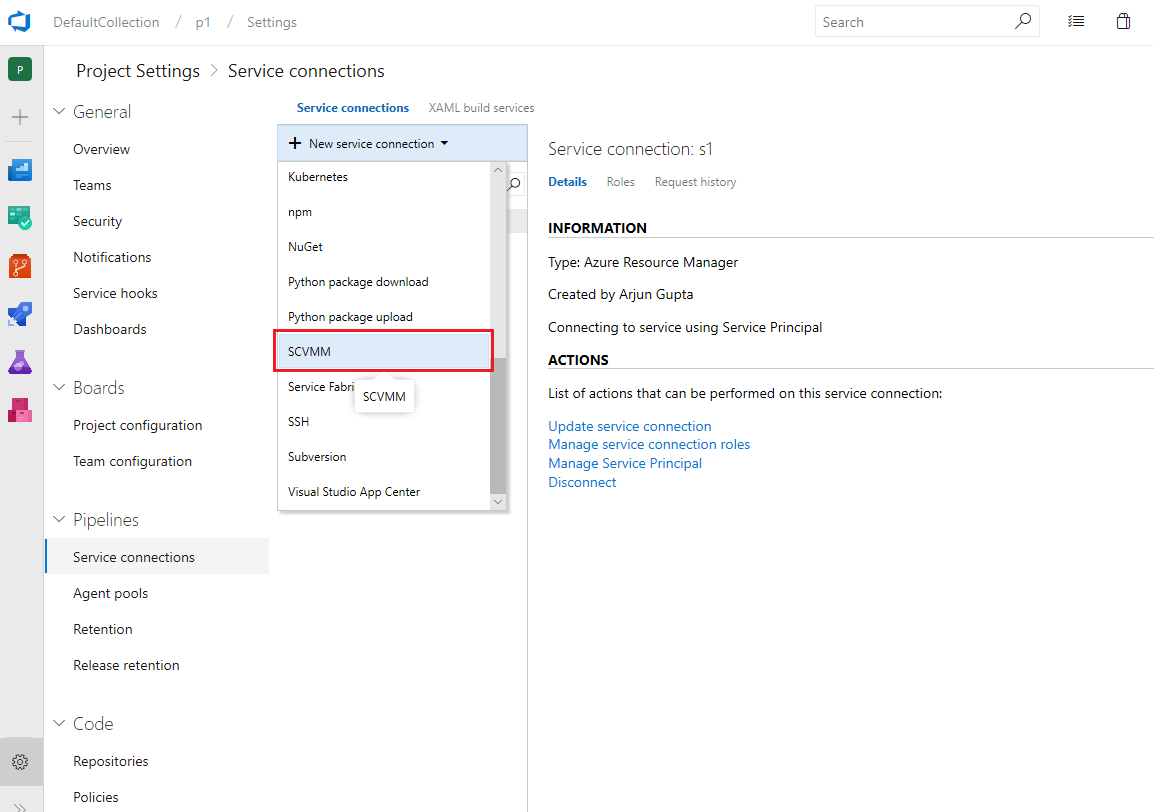 SCVMM Integration - Visual Studio Marketplace