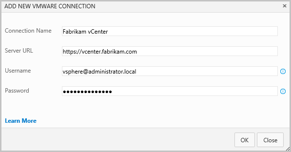 VMware Connection