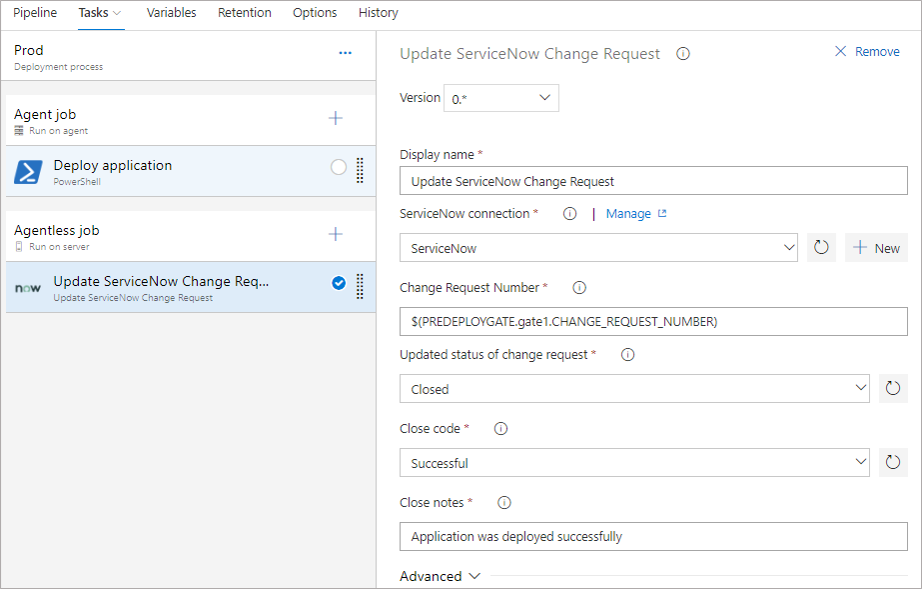 ServiceNow Change Management - Visual Studio Marketplace