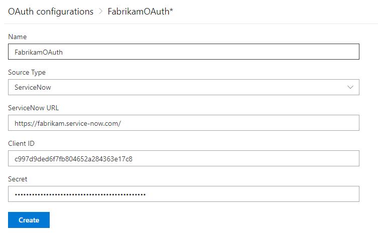 Add OAuth configuration